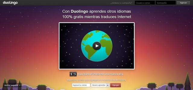 Duolingo - aprende otros idiomas gratis mientras traduces contenido en Internet