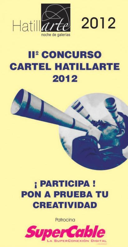 Concurso de Diseño Cartel HATILLARTE 2012