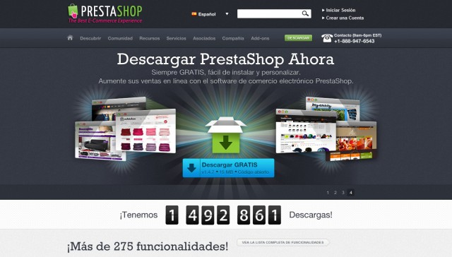eCommerce Gratis - PrestaShop