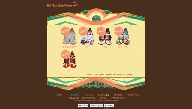 Tienda Virtual Hot Chocolate Design