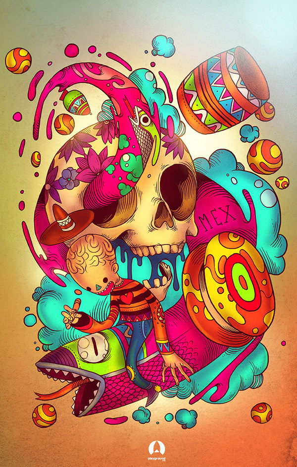 Playground 901 4ta Semana: Juegos Mexicanos - Por Raul Urias