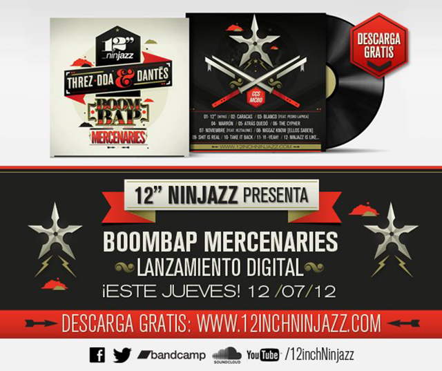 12 inch Ninjazz - Boombap Mercenaries