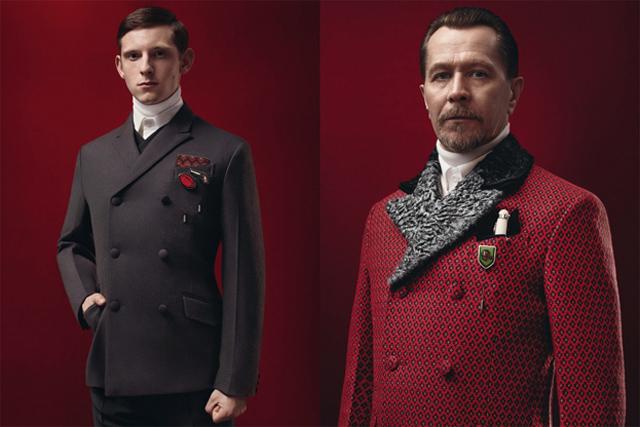 Colección Prada Otoño/Invierno 2012: Estilo Victoriano (Gary Oldman)