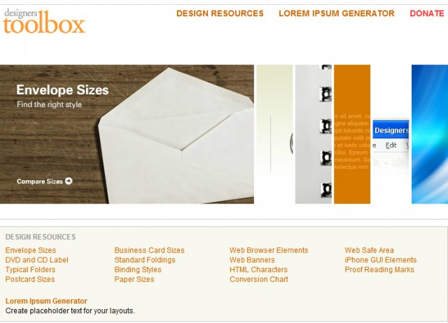 Designers Toolbox - Herramientas y Recursos para Diseñadores