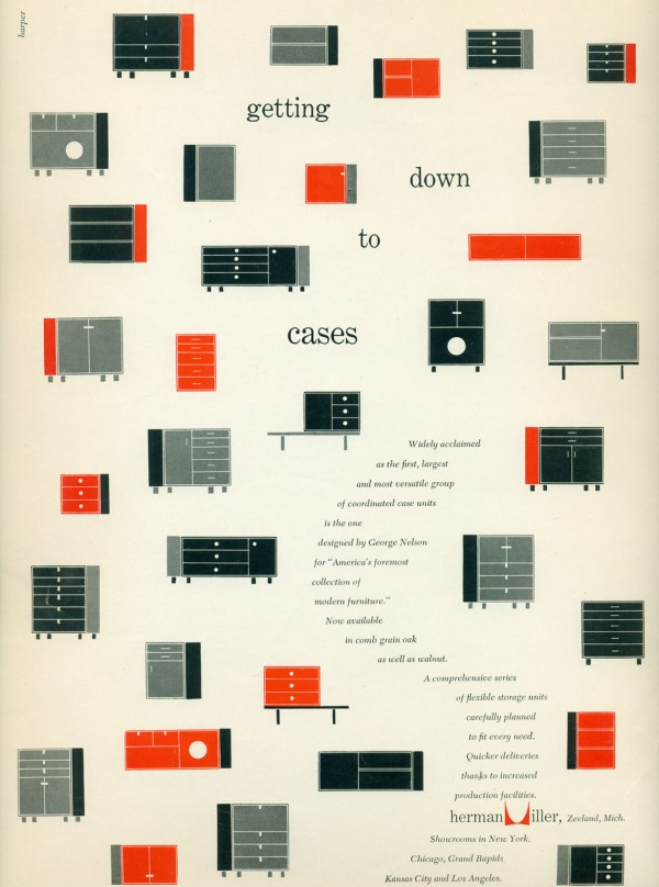 Getting Down to Cases (Herman Miller, 1952)