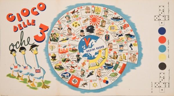 Gioco delle 3 Oche c. 1944 (Italia) - MoMA - Century of the Child