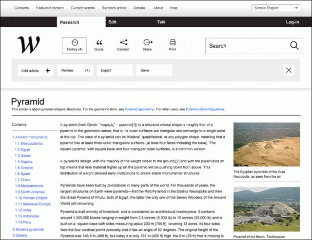 Wikipedia Redefined (Vista de Artículo)
