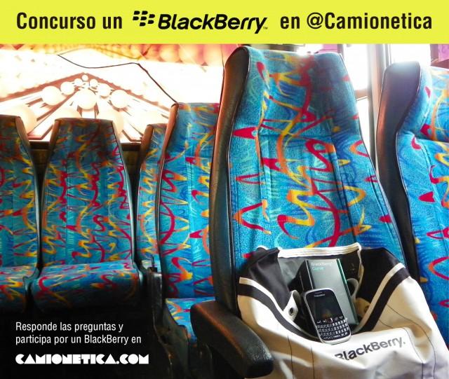 Concurso: Un BlackBerry en Camionetica