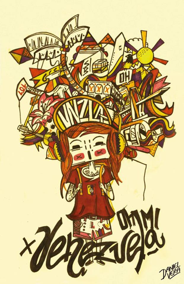 Concurso de Afiches Esto es Venezuela - Daniel Vera