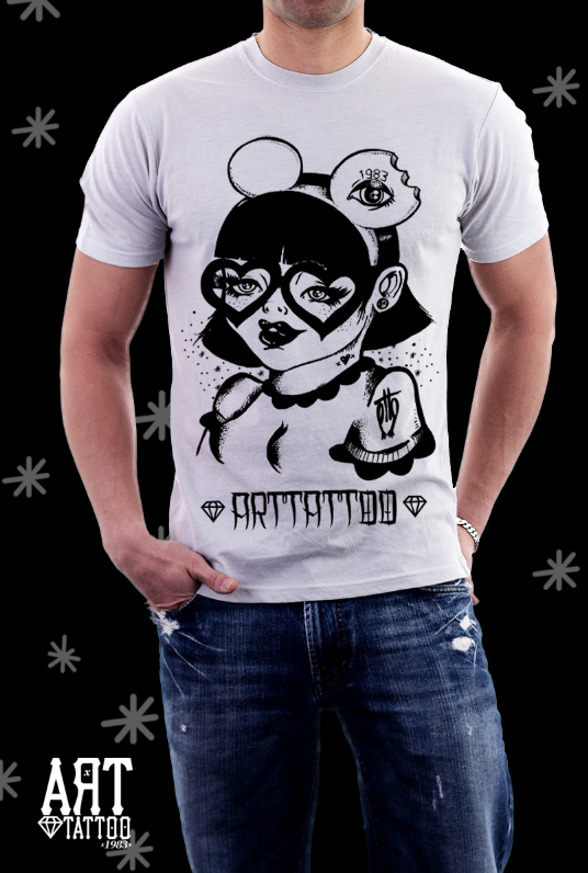 Camisetas ilustradas ArtTattoo