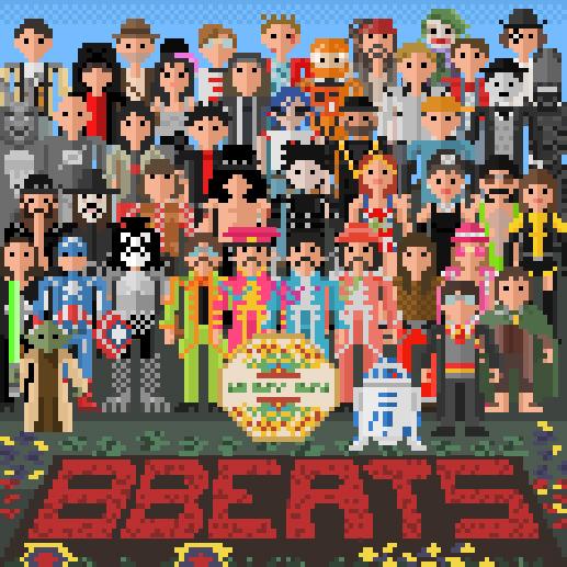 Beatles Pixelados 8 bits por 8Beats (Thiago Krening)