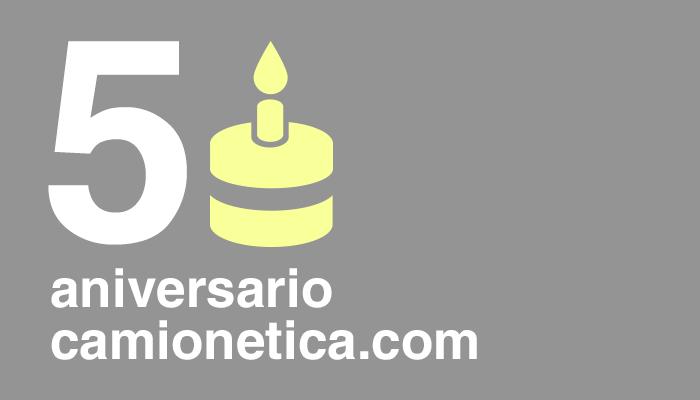 Camionetica.com - 5to Aniversario