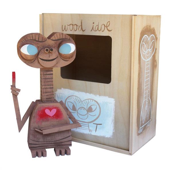 Wood Idol (Ídolos de Madera) por Amanda Visell - E.T.