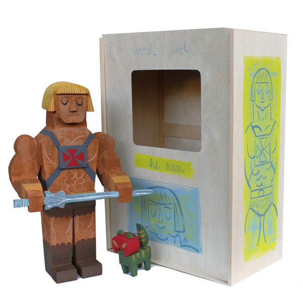 Wood Idol (Ídolos de Madera) por Amanda Visell - HE-Man