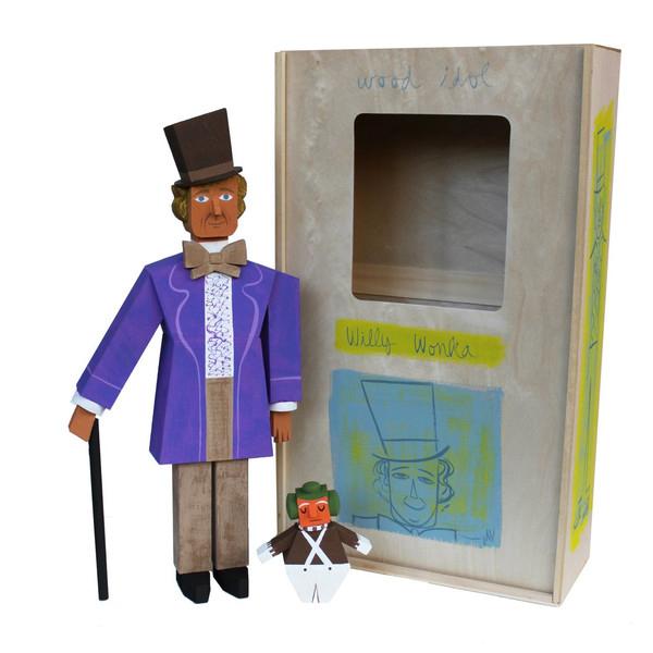 Wood Idol (Ídolos de Madera) por Amanda Visell - Willy Wonka