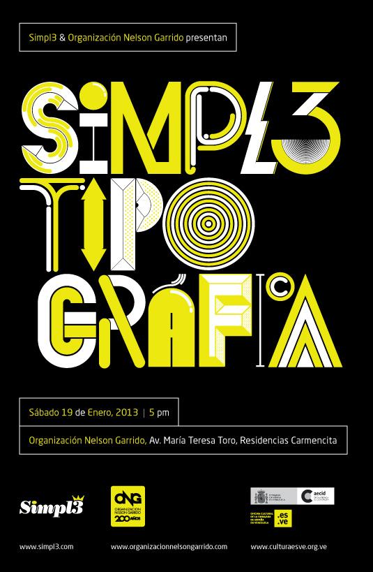 Exposición Colectiva Simpl3 Tipo Gráfica