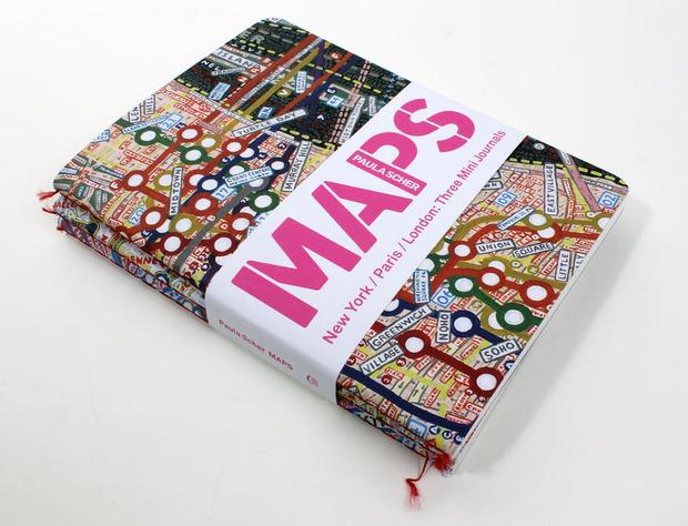 Maps por Paula Scher (Libretas)