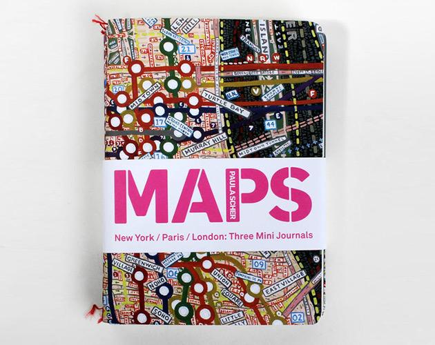 Maps por Paula Scher (Portada)