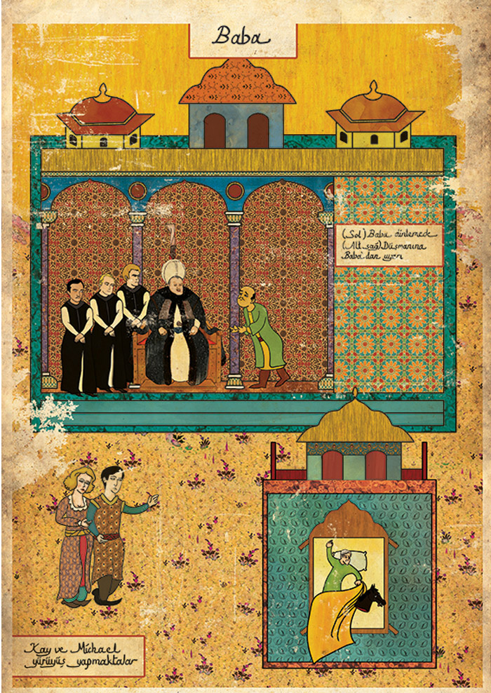 Carteles de películas en Arte Oriental por Murat Palta - The Godfather
