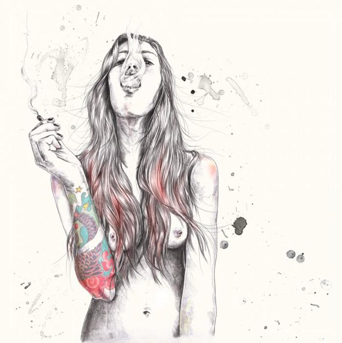 Ilustraciones de Esra Roise