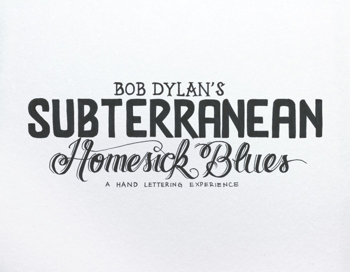 Subterranean Homesick Blues - 02