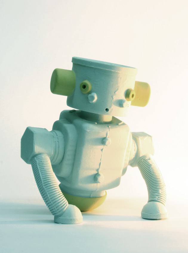 Robots - Esculturas en Cerámica por Matias Liimatainen