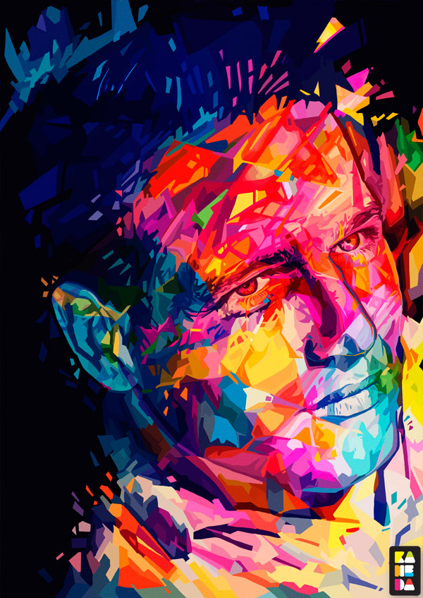 Paul Newman by Kaneda