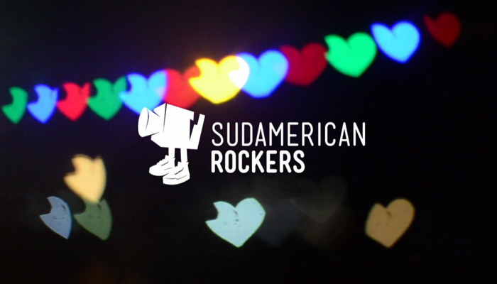 Sudamerican Rockers - Heart Shaped Buenos Aires