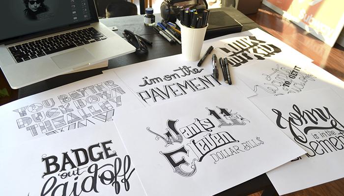 Una experiencia tipográfica hecha a mano