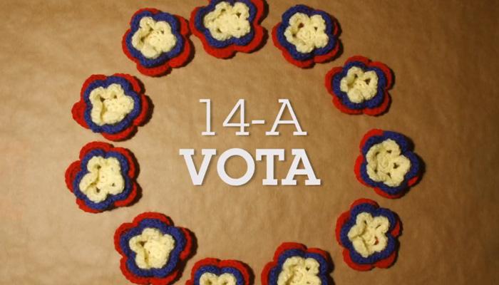 Teje la Araña - 14-A Vota