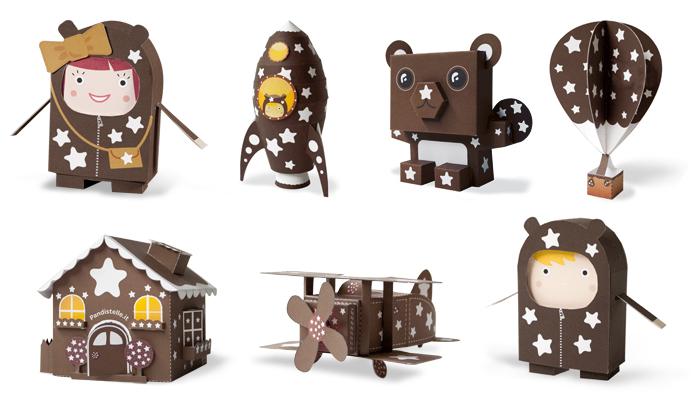 Pan di Stelle - Paper Toys