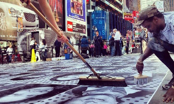Times Square con JR