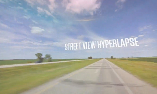 Street View Hyperlapse
