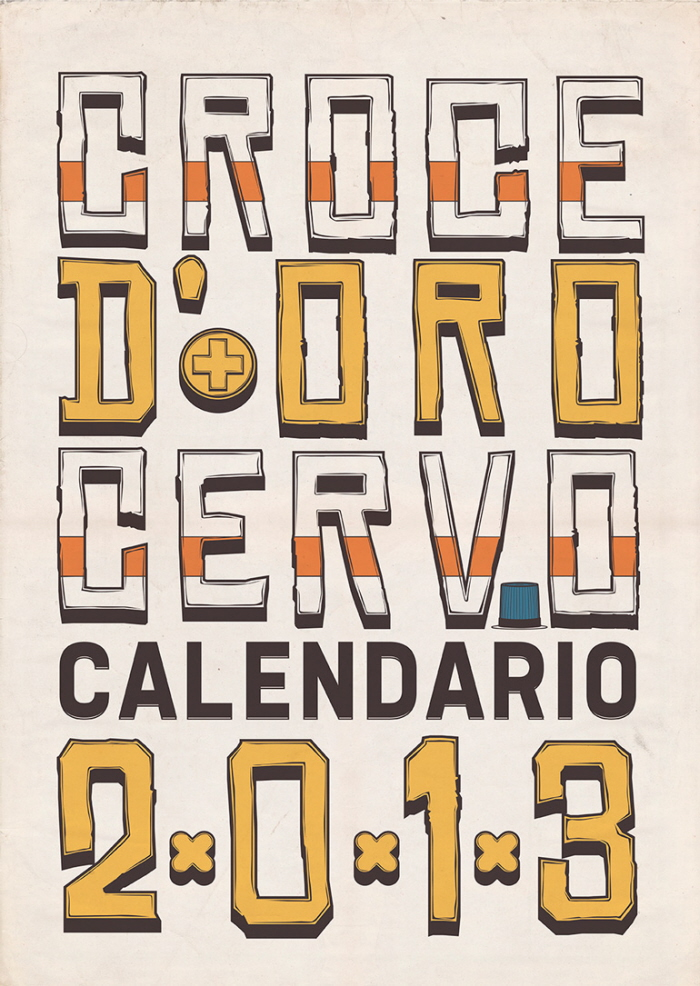 Croce d'ORO Cervo Calendario 2013