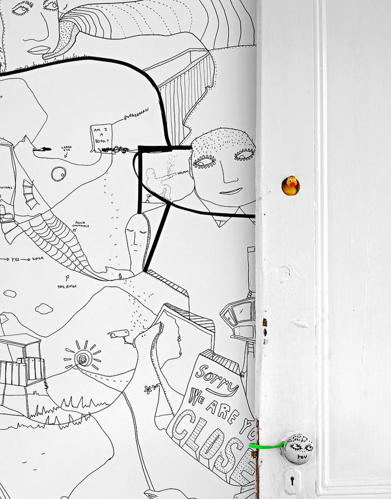 Shantell Martin - Habitación (Detalle 2)