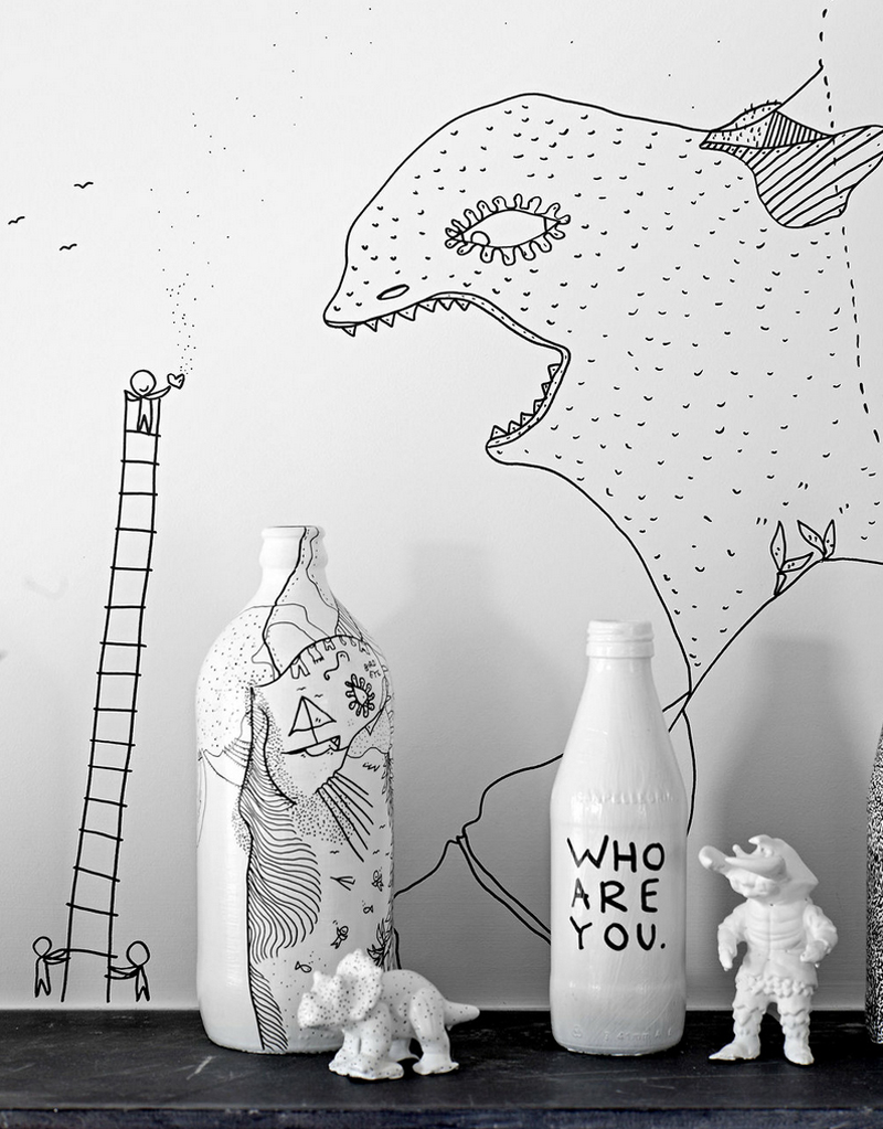 Shantell Martin - Habitación (Detalle 3)