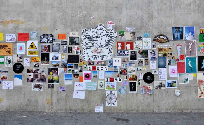 Wallpeople Barcelona 2012