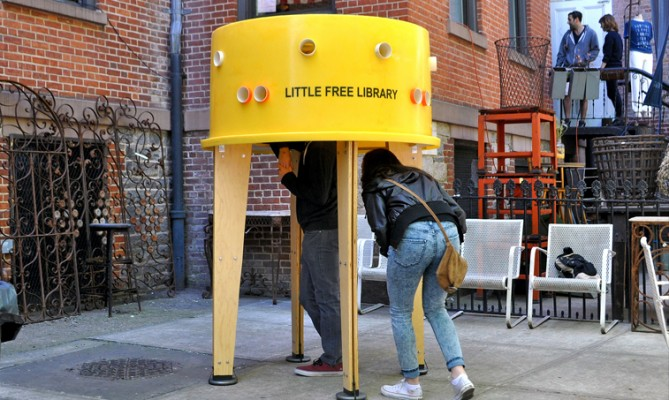 Little Free Library - Stereotank