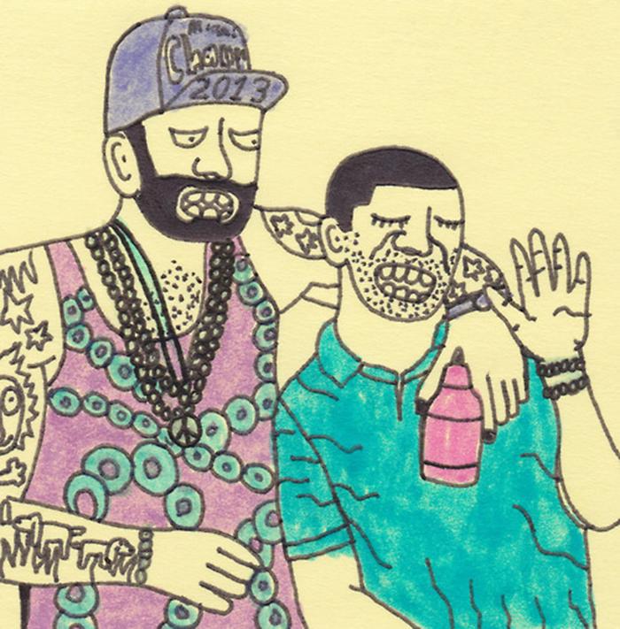 Gangster Doodles - Aaron Dickinson