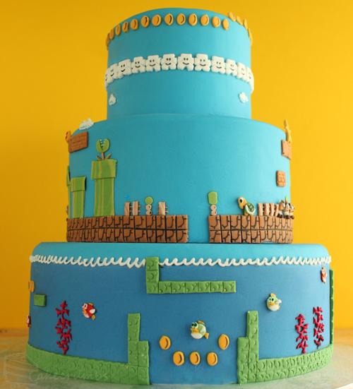 Torta Nintendo Super Mario Bros.