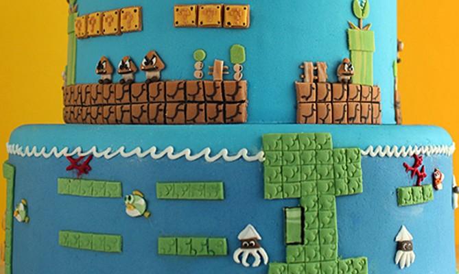 Torta Super Mario Bros.
