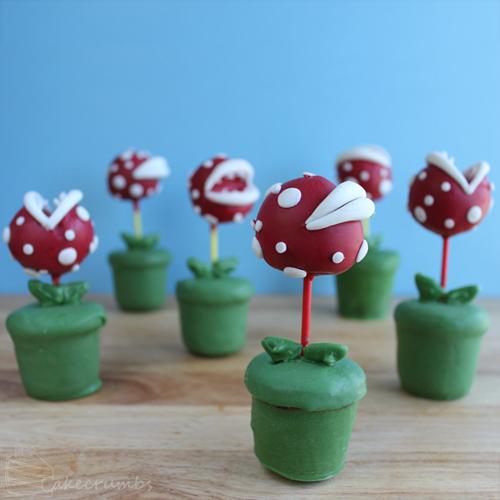 Trufas Plantas Pirañas de Super Mario Bros. Nintendo