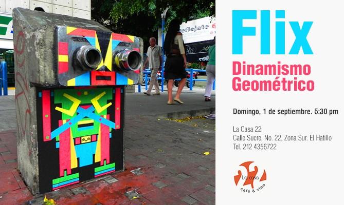 Flix - Exposición: Dinamismo Geométrico - Horizontal
