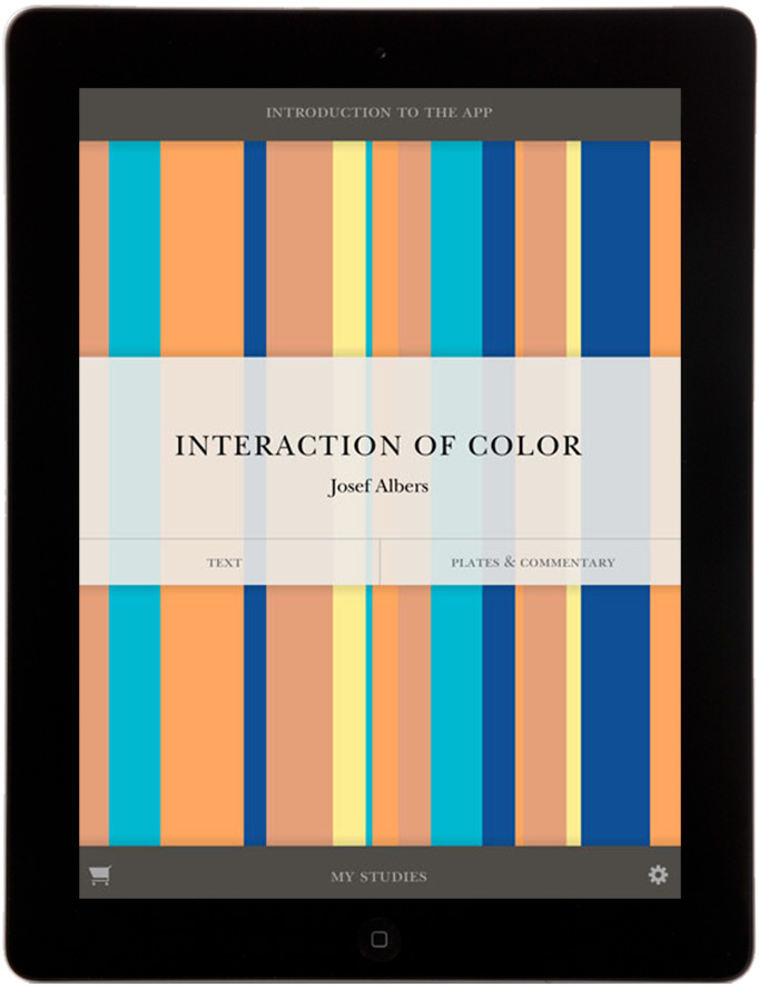 Interaction of Color - iPad App