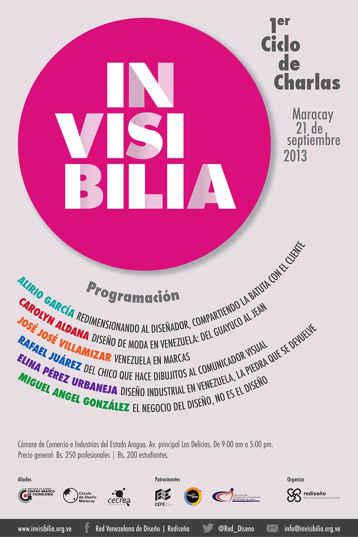 Invisibilia: Charlas de Diseño en Venezuela - Maracay 2013