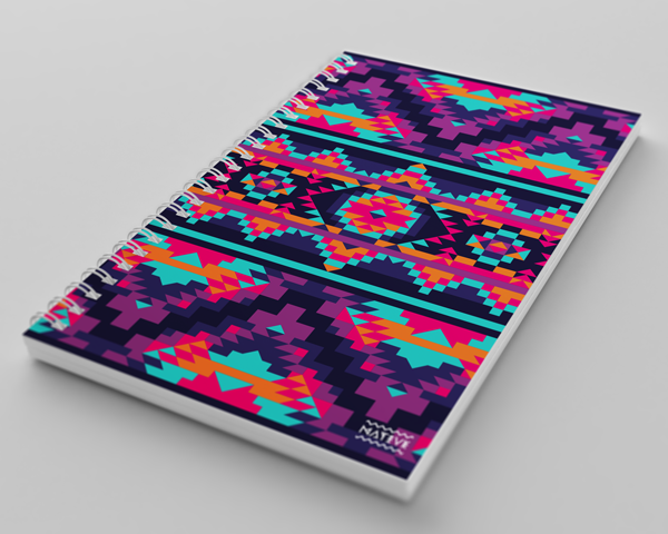 Native - Cuaderno Pixel Art por Exarock