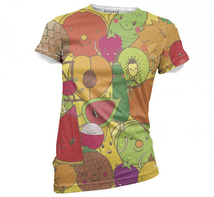 Piktorama - Women's Fruticas Tee - Beloved
