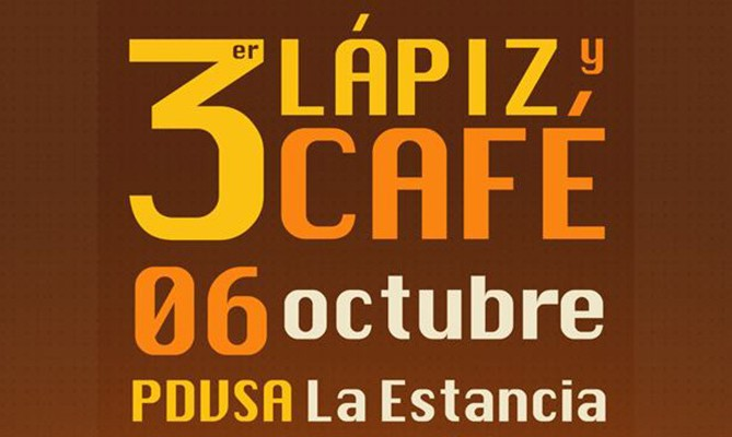 3er Lápiz y Café Caracas