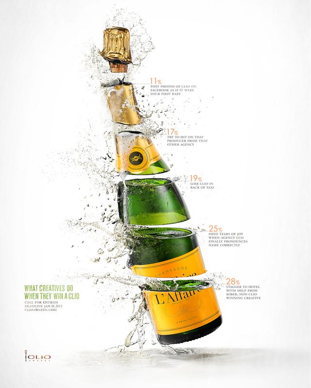 CLIO Awards - Anatomía de un Creativo - Champaña
