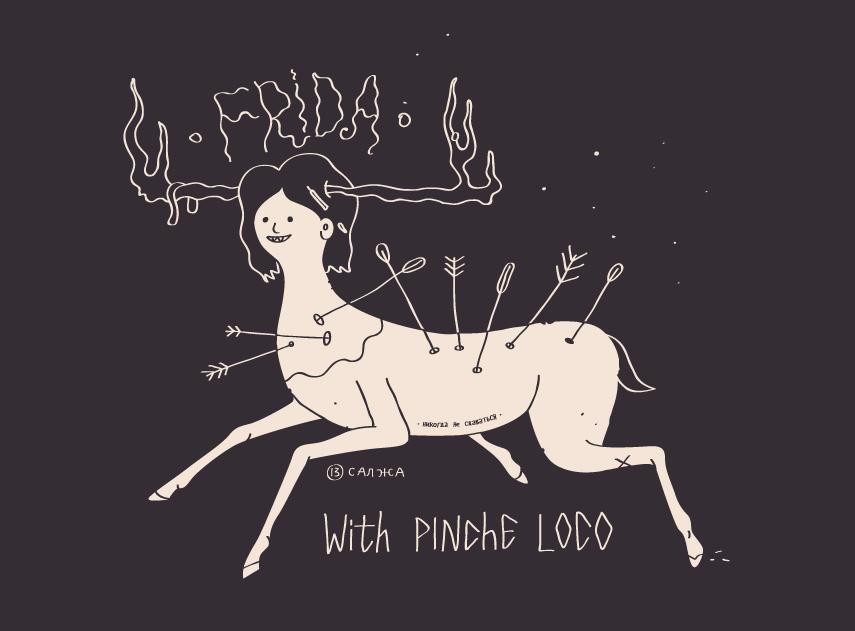 Frida por Pinche Loco